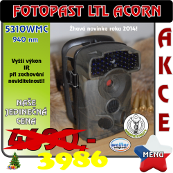 Fotopast LTL ACORN 5310WMC 940 nm CZ