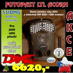 Fotopast LTL ACORN 5310MG 850 nm s anténou CZ