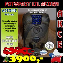 Fotopast LTL ACORN 6210MC 940 nm CZ