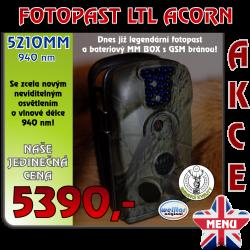 VÝPRODEJ - Fotopast LTL ACORN 5210MM 940 nm