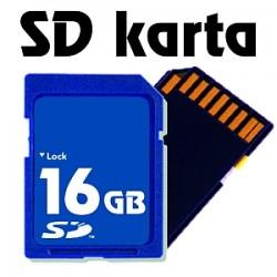 Paměťová karta SD - 16 GB