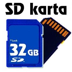 Paměťová karta SD - 32 GB